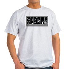 Friends Jazz Consortium in Grayscale T-Shirt