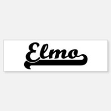 Black jersey: Elmo Bumper Bumper Bumper Sticker