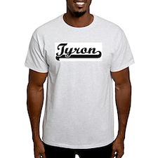 Black jersey: Tyron Ash Grey T-Shirt
