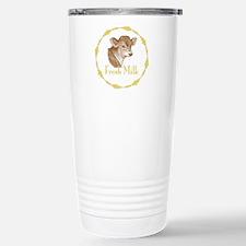 Fresh Milk with Baby Cow Travel Mug