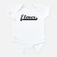 Black jersey: Elmer Infant Bodysuit