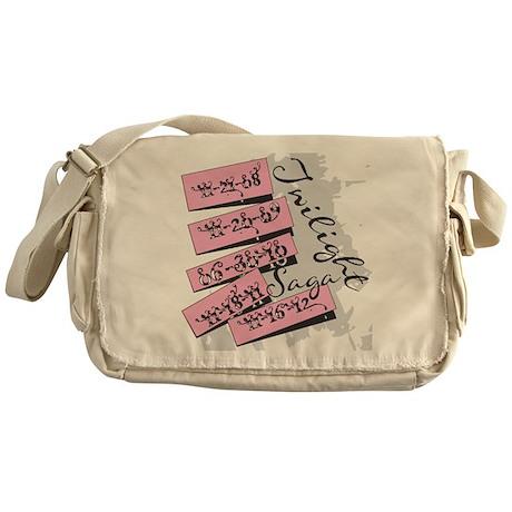 Twilight Movie Dates Messenger Bag