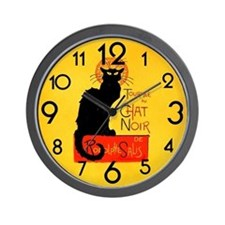 Funny Art deco Wall Clock