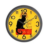 Chat noir Basic Clocks