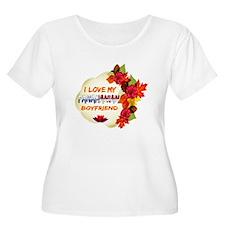Panamanian Boyfriend designs T-Shirt