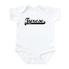 Black jersey: Tyrese Infant Bodysuit