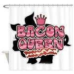 Bacon Queen Shower Curtain