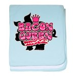 Bacon Queen baby blanket