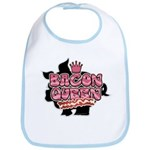 Bacon Queen Bib
