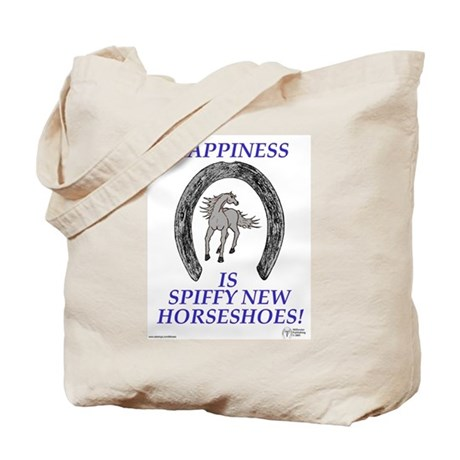 Happy Horseshoes and Caduceus Tote Bag