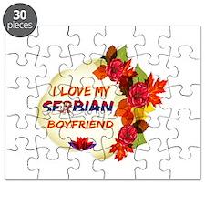 Serbian Boyfriend designs Puzzle