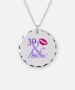 30 And Fabulous! Necklace