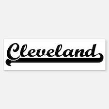 Black jersey: Cleveland Bumper Bumper Stickers