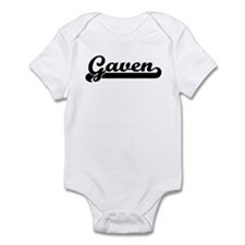 Black jersey: Gaven Infant Bodysuit