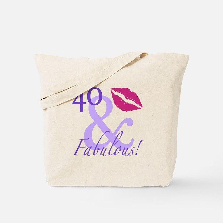 40 And Fabulous! Tote Bag
