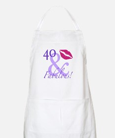 40 And Fabulous! Apron