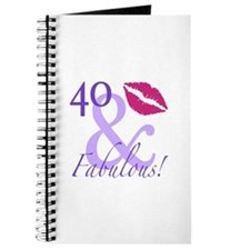 40 And Fabulous! Journal