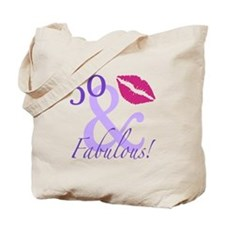 50 And Fabulous! Tote Bag