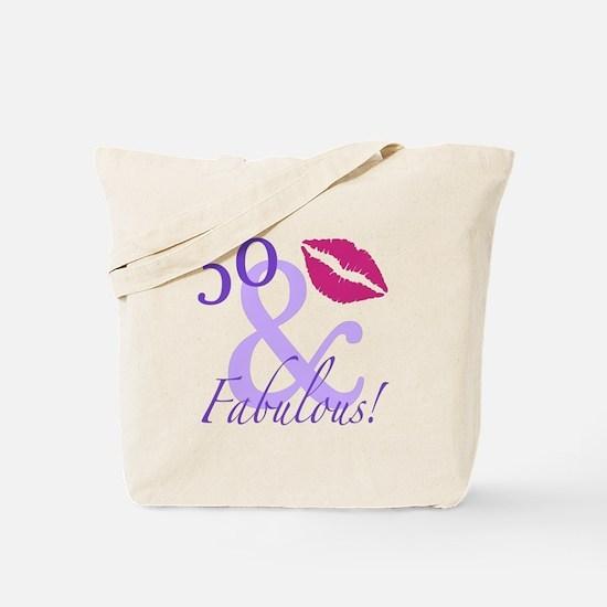 50 And Fabulous! Tote Bag