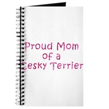 Proud Mom of a Cesky Terrier Journal