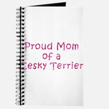 Proud Mom of a Cesky Terrier Journal