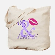 65 And Fabulous! Tote Bag