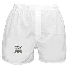 Property of Cesky Terrier Boxer Shorts