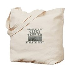 Property of Cesky Terrier Tote Bag