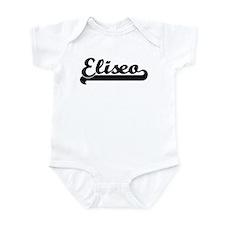Black jersey: Eliseo Infant Bodysuit