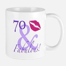 70 And Fabulous! Mug
