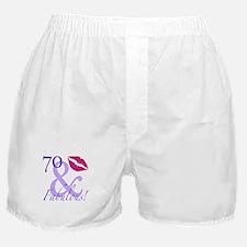 70 And Fabulous! Boxer Shorts
