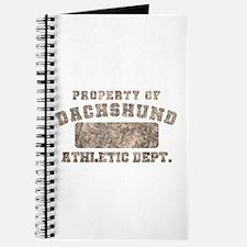 Property of Dachshund Journal