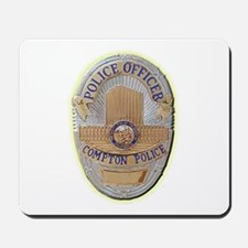 Compton Police Officer Mousepad
