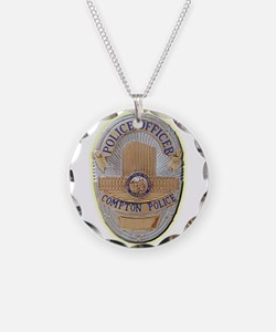 Compton Police Officer Necklace