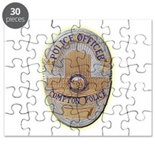 Compton Police Officer Puzzle