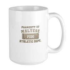 Personalized Maltese Ceramic Mugs