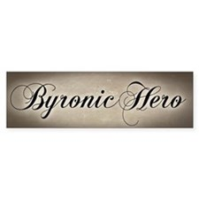 Byronic Hero Bumper Sticker