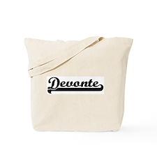 Black jersey: Devonte Tote Bag