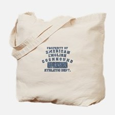 Property of Am. English Coonhound Tote Bag