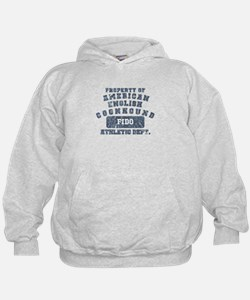 Property of Am. English Coonhound Hoodie