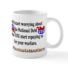 National Debt? Pffft. Mug
