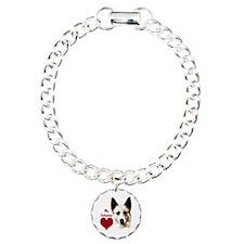 canaan dog valentine Bracelet