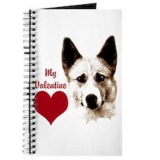 canaan dog valentine Journal