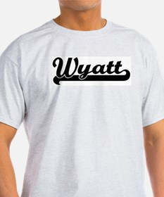 Black jersey: Wyatt Ash Grey T-Shirt