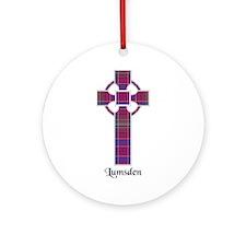 Cross - Lumsden Ornament (Round)