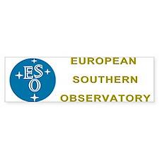 European Southern Observatory Bumper Sticker