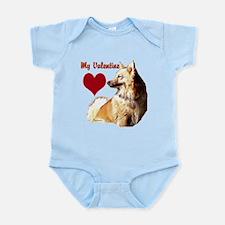 Iceland sheepdog icelandic valentine Infant Bodysu