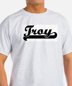 Black jersey: Troy Ash Grey T-Shirt