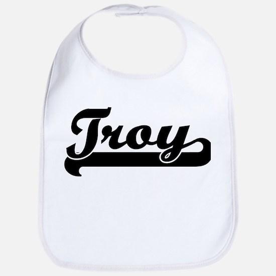 Black jersey: Troy Bib