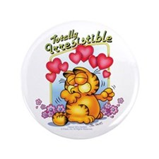 """Totally Irresistible! 3.5"""" Button (100 pack)"""